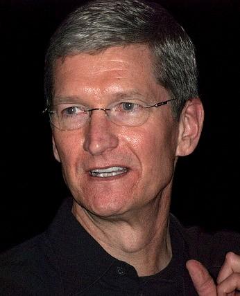 Tim Cook, CEO von Apple, stellte am 09.09.2014 das neue iPhone 6 vor.